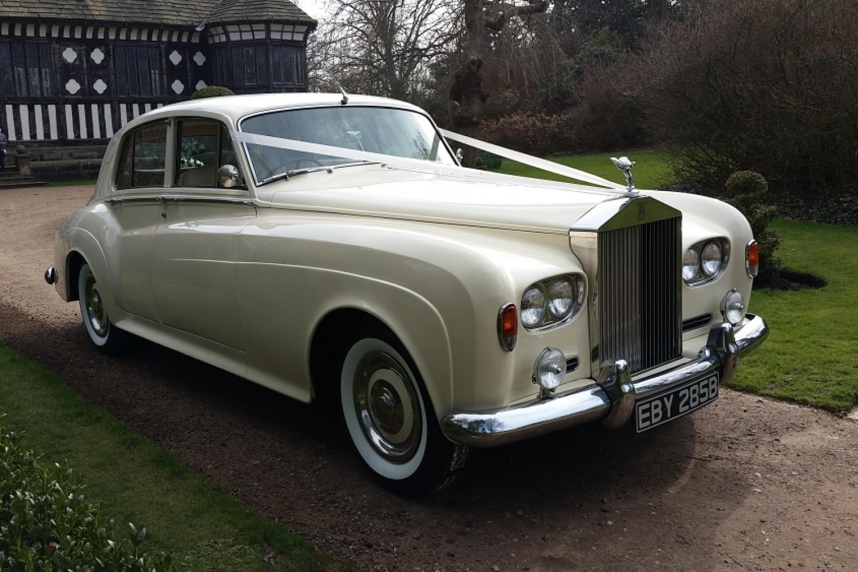 1964 Rolls Royce Wedding Car