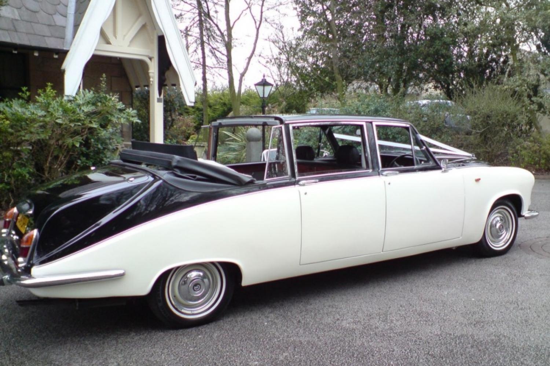 Daimler Convertible Wedding